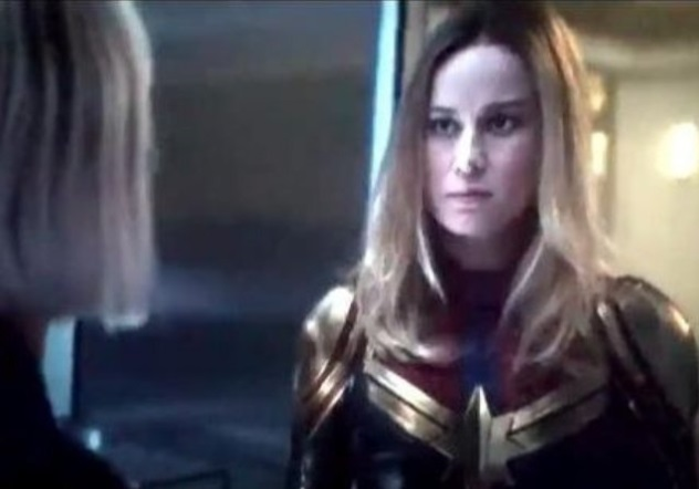 Captain Marvel New Suit